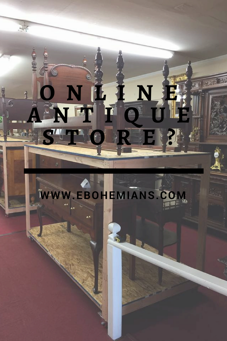 Can an antique store really sell antique furniture online? How do they  possibly organize their - Online Antique Store - Bohemian's Fine Furniture Video ⋆ Bohemian's