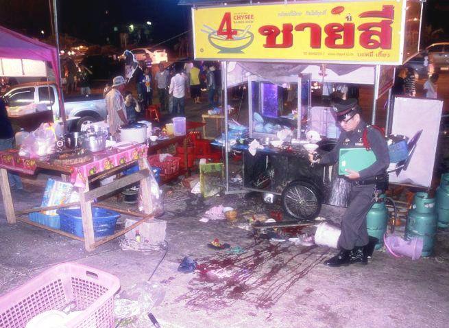 Esplosioni e spari in un mercato in Thailandia: muore una bimba, 34 feriti  http://tuttacronaca.wordpress.com/2014/02/23/esplosioni-e-spari-in-un-mercato-in-thailandia-muore-una-bimba-34-feriti/
