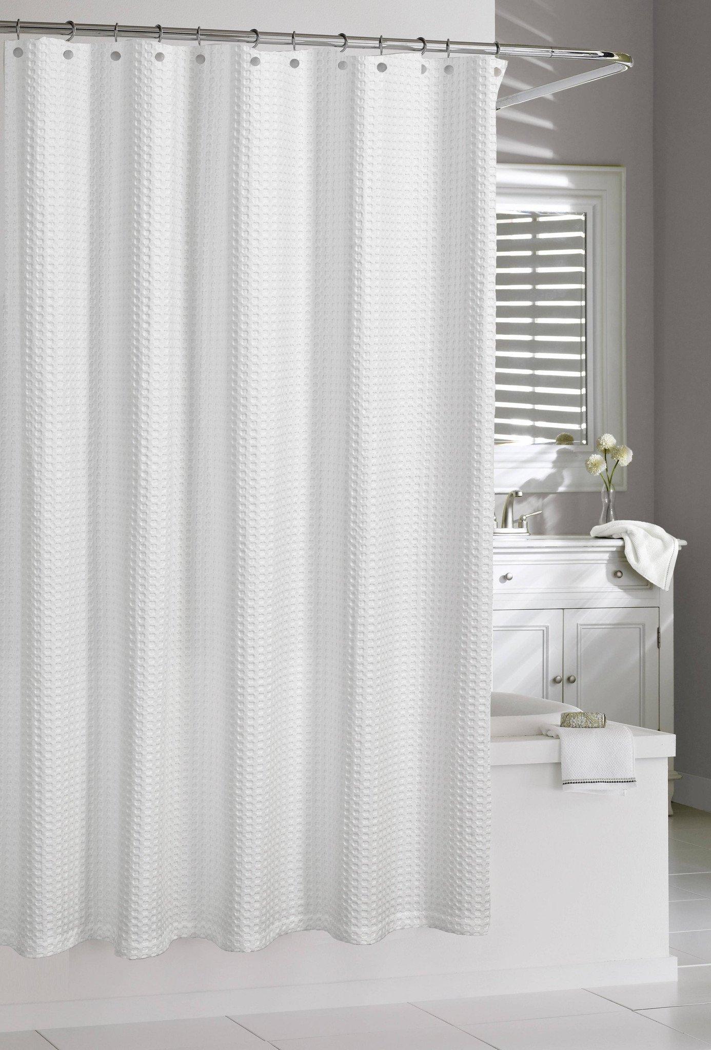 Royal Bath 100 Cotton Extra Heavy Hotel Quality Shower Curtain