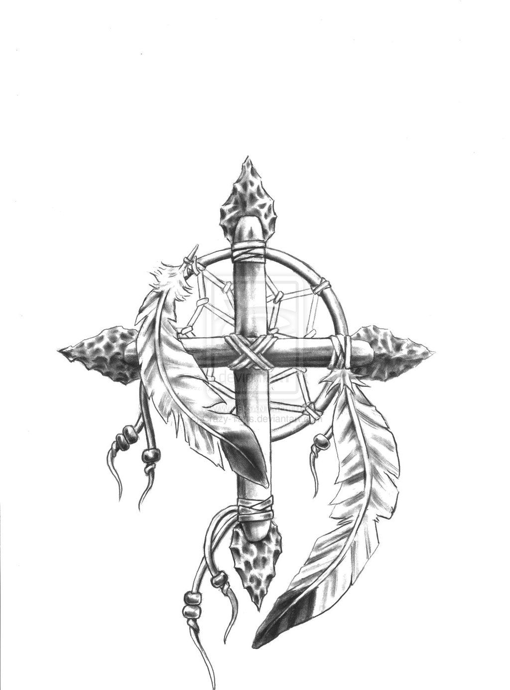 980809807075a Sketch for medicine wheel cross dream catcher comb by  Crazy-Tatts.deviantart.com on @deviantART I think this is so pretty