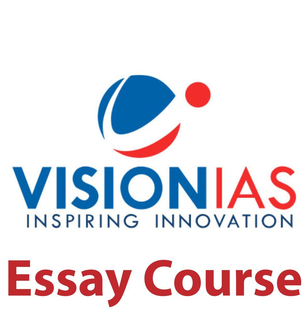 Vision Ias Essay Upsc 2020 With Images Essay Visions Lecture