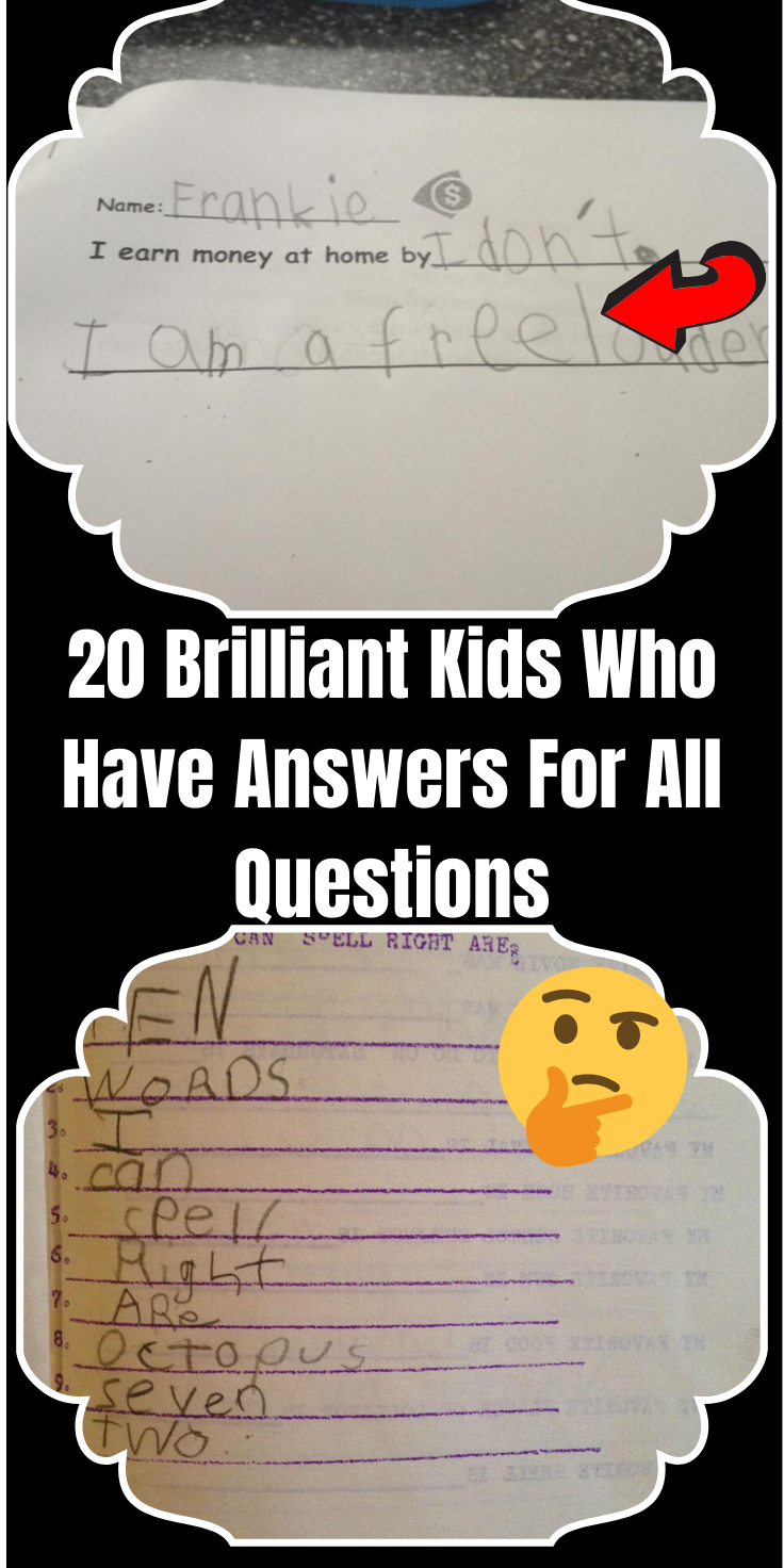 20 Brilliant Kids Who Have Answers For All Questions Funny Moments Best Body Weight Exercises This Or That Questions