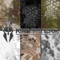 Kryptek Nomad and Kryptek Mandrake Hydrographic Film