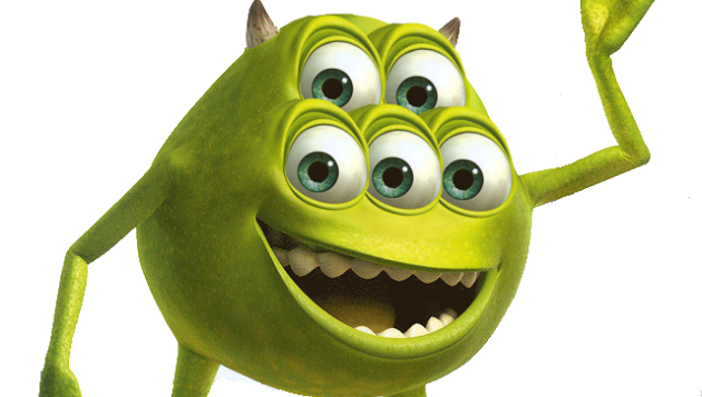 Mike Wazowski With 2 Eyes Google Search Olaf The Snowman Pluto The Dog Character