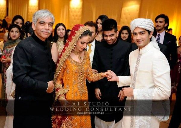 Javed Sheikh S Son Shehzad Wedding Pictures