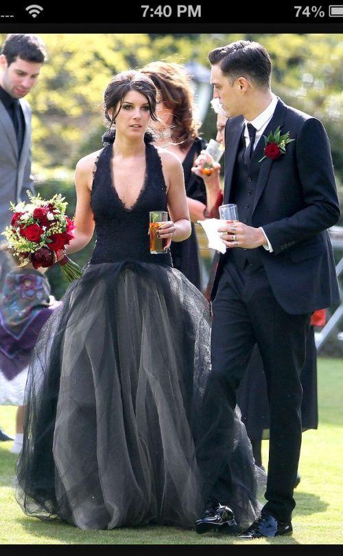 18 Beautiful Black Wedding Dresses