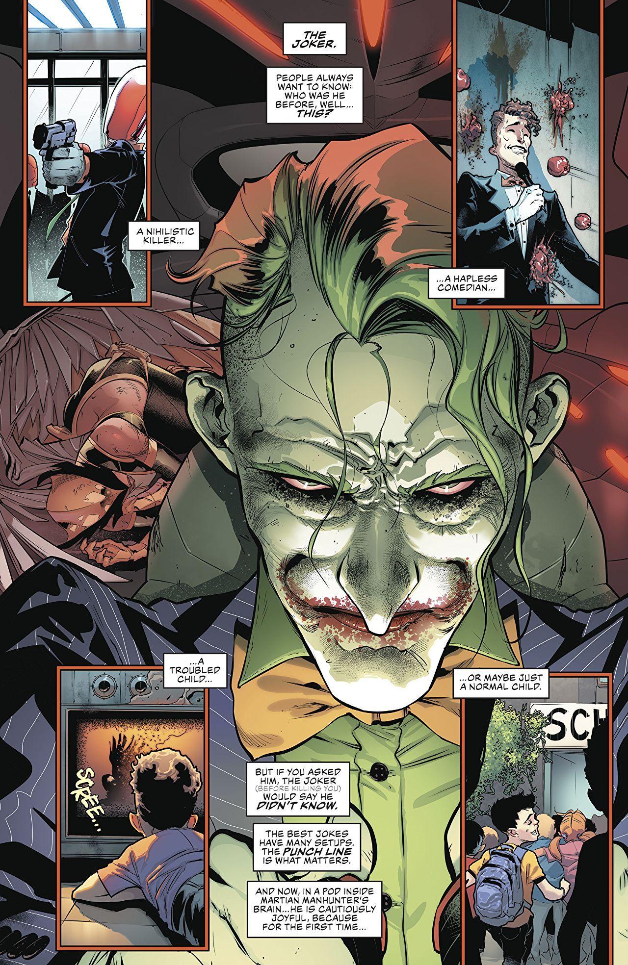 Justice League 2018 6 Comics Batman Comics Joker Art