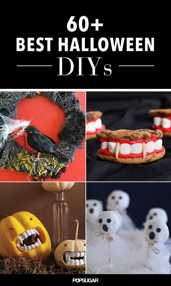 Set the scene for your Halloween festivities with spooktacular DIYs that will have your guests screaming . . . in delight, that is. Repurpose items or hit the d