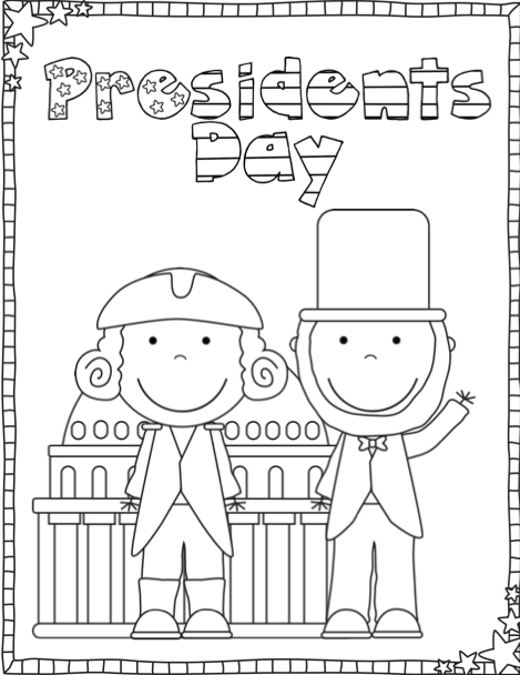 President's Day Free Printables from Ship Shape First