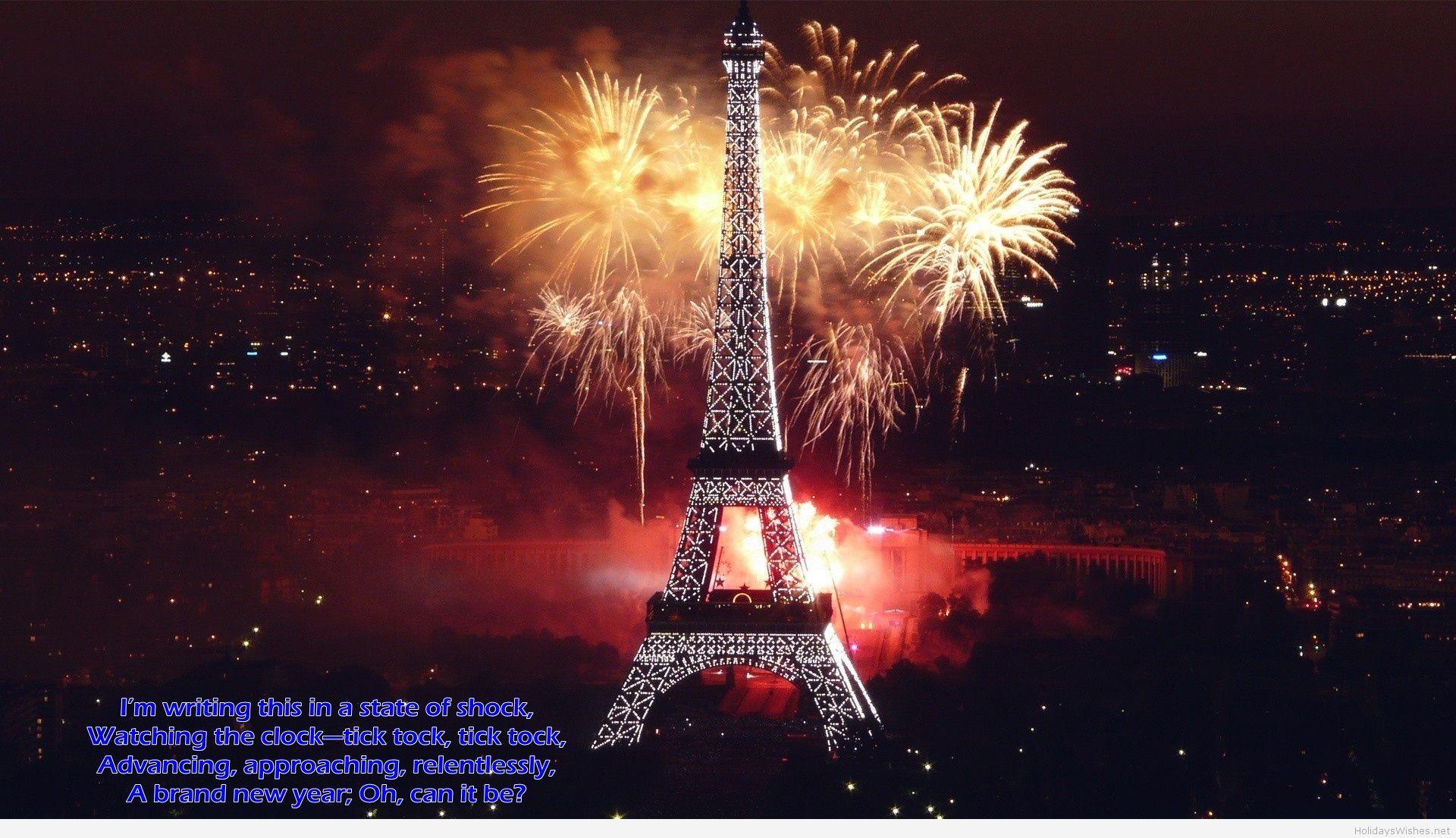 paris happy new year hd fireworks fotografia ciudades fotos fondo de pantalla hd