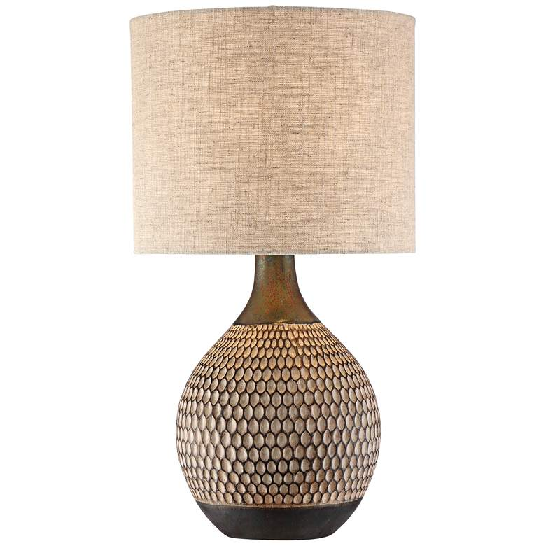 Emma Brown Ceramic Mid Century Table Lamp 56h51 Lamps Plus Mid Century Table Lamp Mid Century Modern Accent Table Bedside Lamp Modern