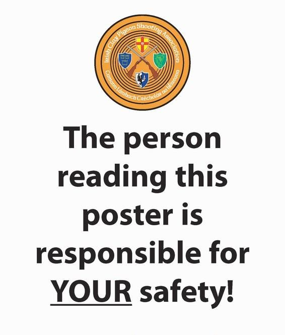Funny Work Safety Quotes: The Person Reading This Poster Is Responsible Fo Your