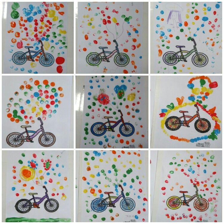 Uçan Bisiklet Sanat Etkinlikleri Pinterest