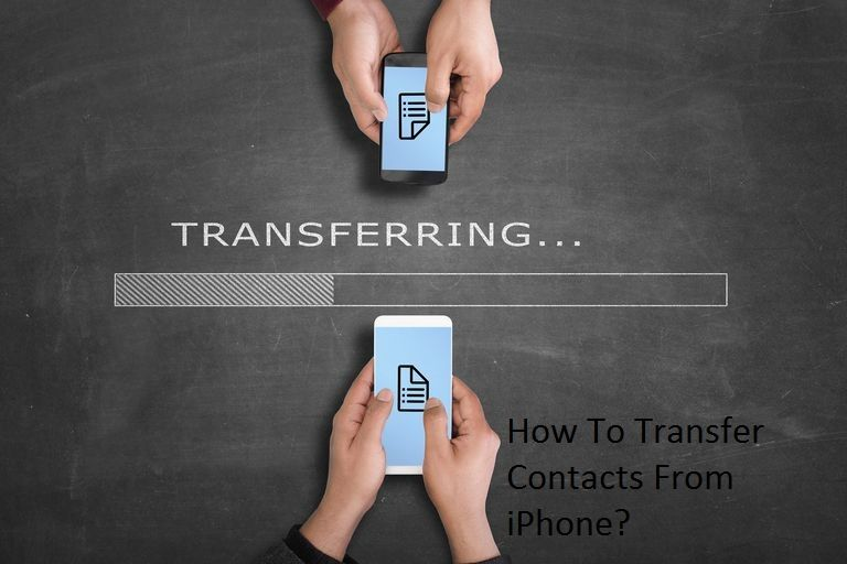 How To Transfer Contacts From iPhone? Iphone, Iphone