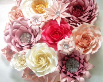 Red and white paper flower backdrop pinterest paper flower red and white paper flower backdrop mightylinksfo
