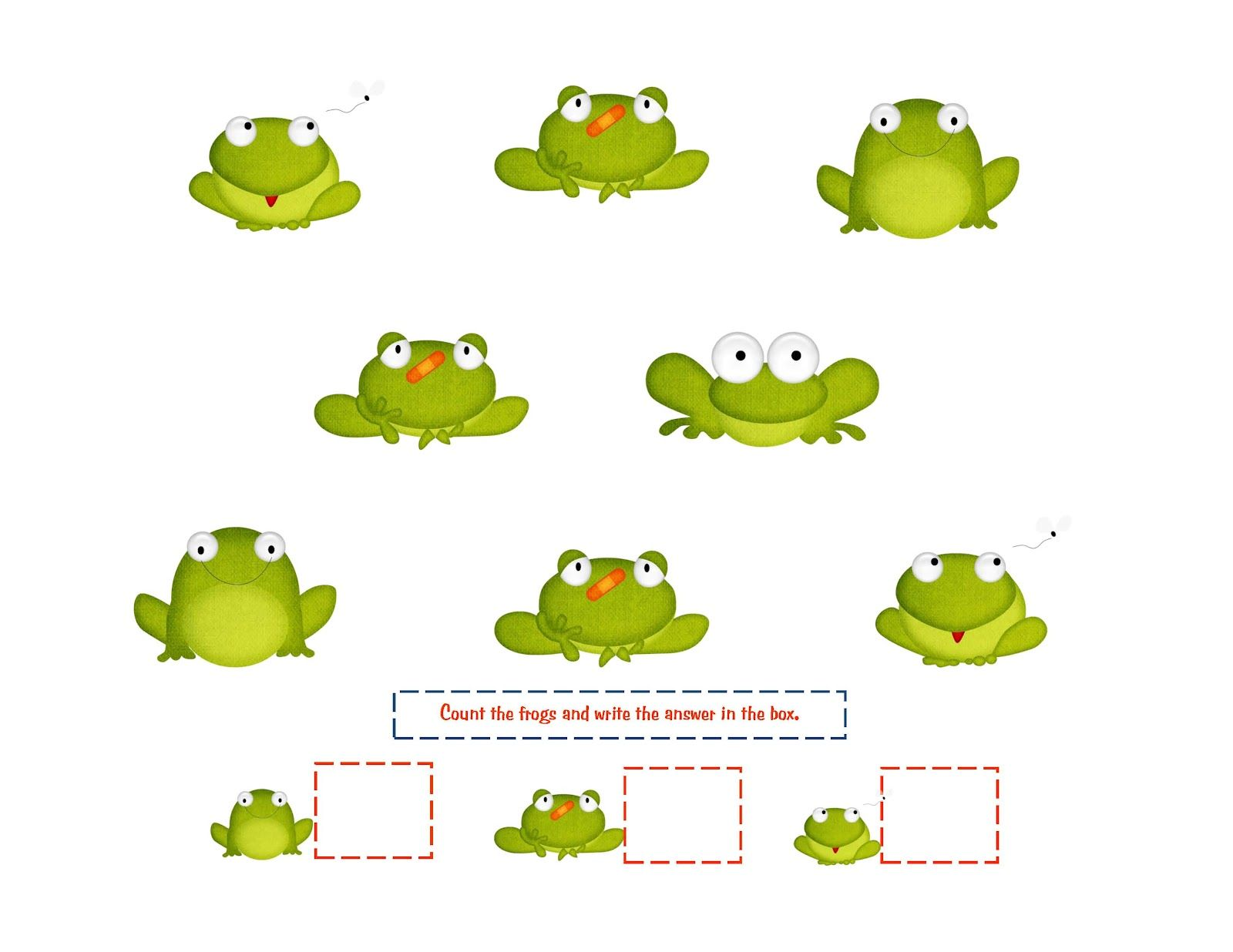 Free Frog Printables With Images