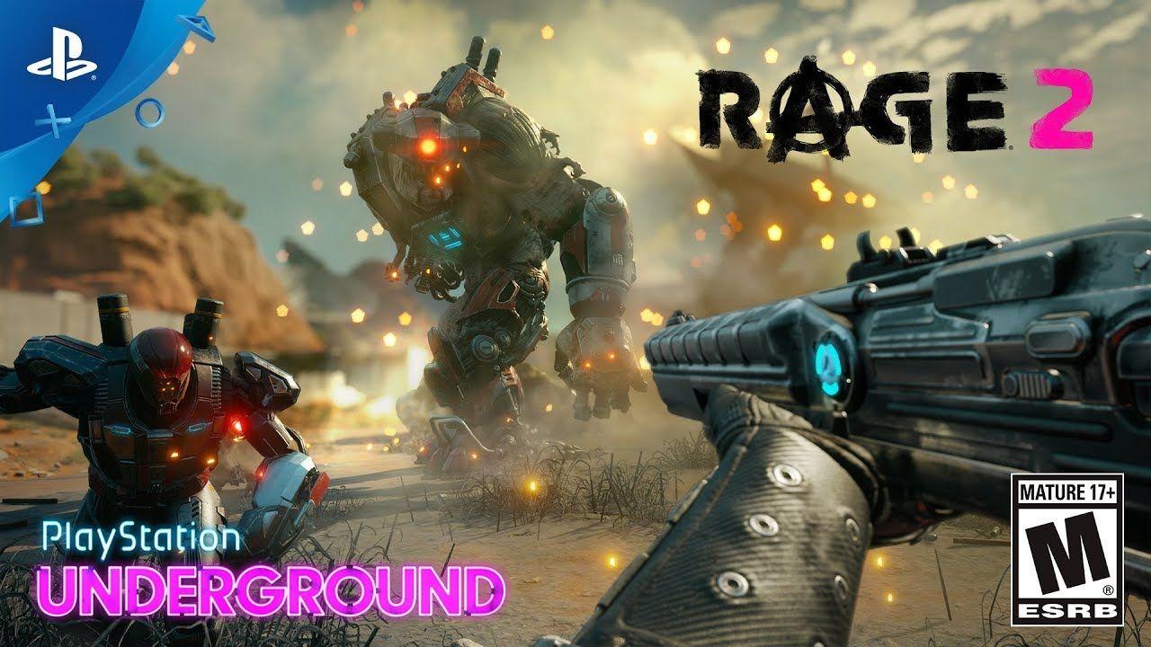 Rage 2 - Gameplay Walkthrough | PlayStation Underground