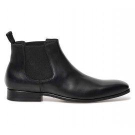 f5e0c989e03 Chelsea boots cousu blake noir homme