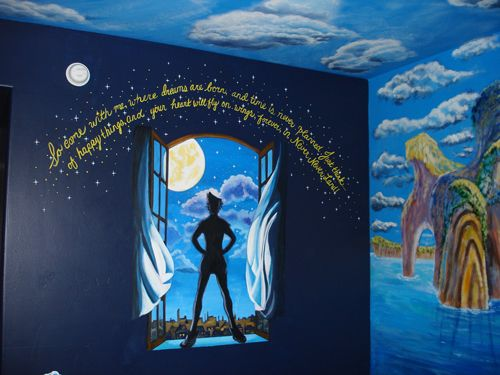 Peter Pan Wall Mural