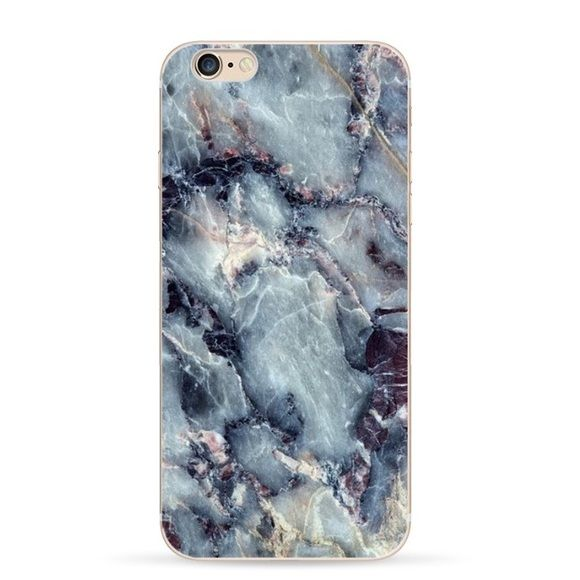 SHIPS NOW! Marble iphone 6 6s case stone blue fits 6 or 6s iphone soft rubber case Accessories Phone Cases
