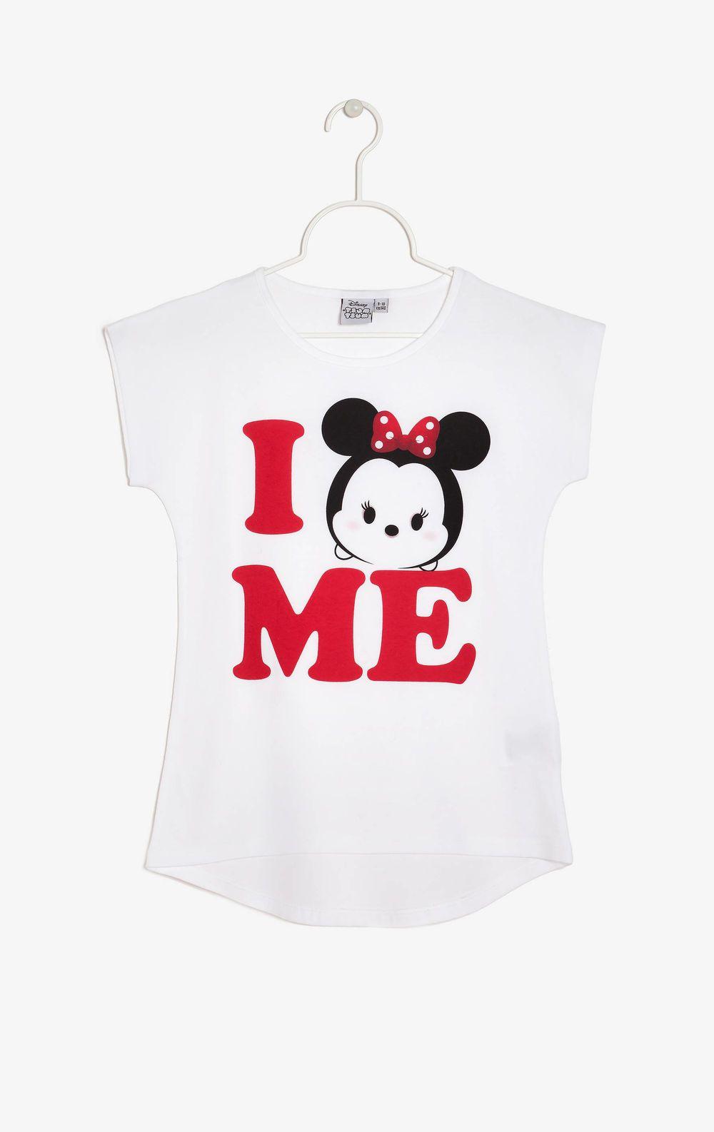 T-shirt Tsum Tsum, Bianco