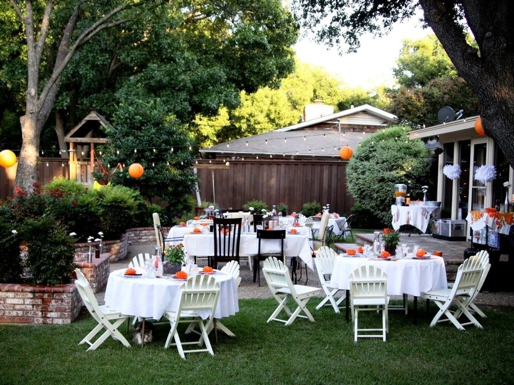 12 Some Of The Coolest Initiatives Of How To Makeover Backyard Landscape Ideas Backyard Bbq Wedding Backyard Wedding Decorations Backyard Bbq Wedding Reception House small backyard wedding reception