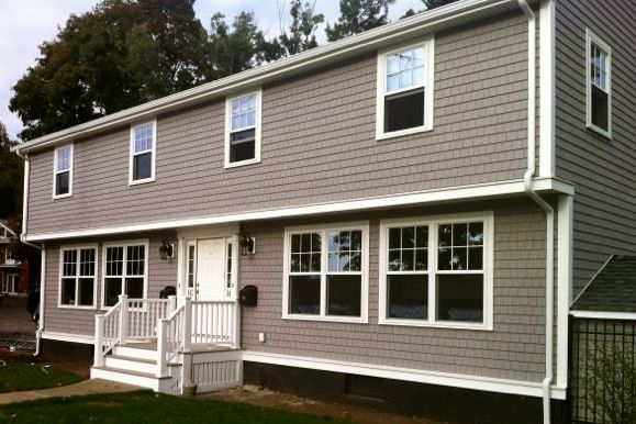 New Harveybp Windows And Plygem Mastic Siding On A Home