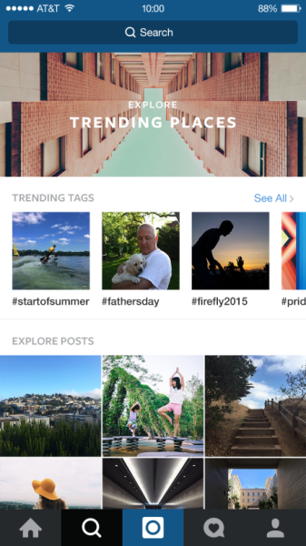 Instagram Marketing: The New Instagram Explore Page