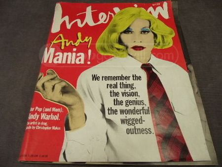 Andy Warhol's Magazine April 1996