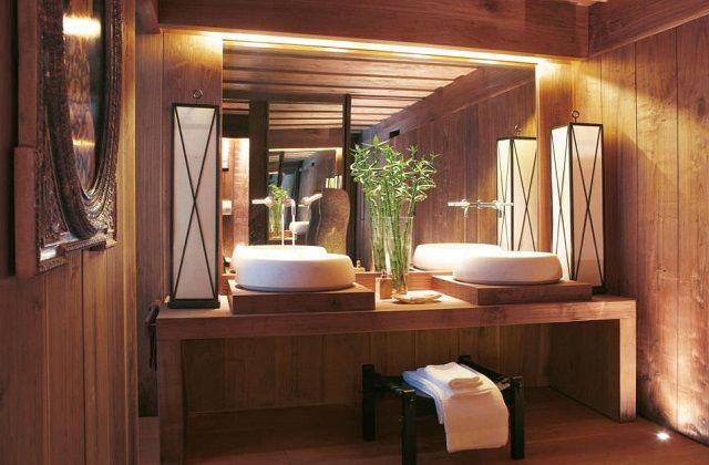 awesome Idée décoration Salle de bain - Salle de bains en bois
