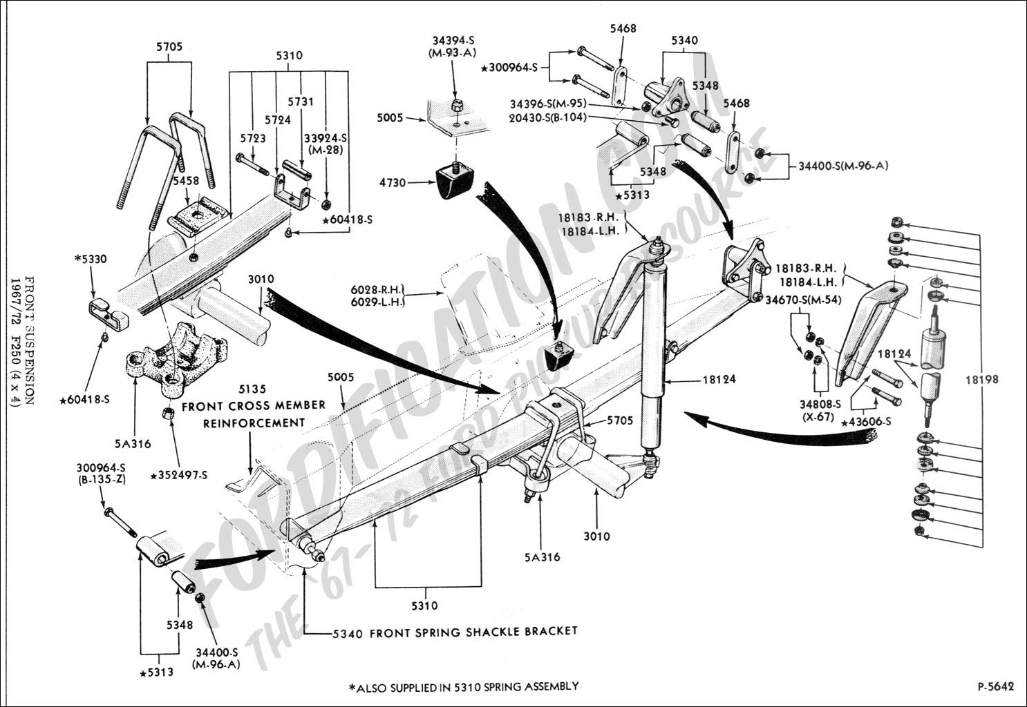 how to replace drag link on a 1996 f 250 4x4 front suspension alfa img showing gt f250 4x4 front axle diagram [ 1486 x 1024 Pixel ]