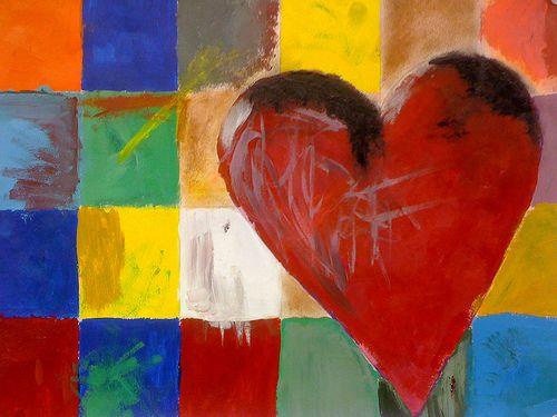 Pink Heart by Jim Dine (1962)   Pop Art   Pinterest   Pink hearts ...