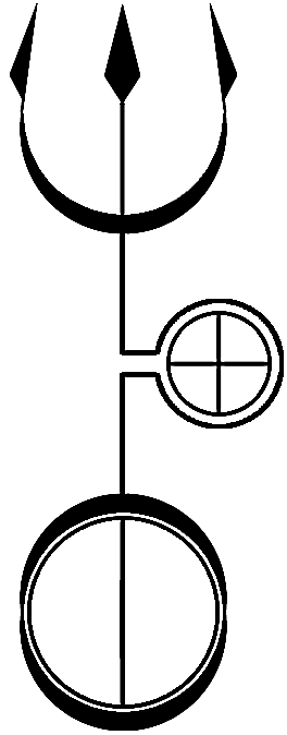 Hekates Trident Vector By Alchemy Stock Httpalchemy Stock