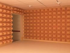 Soundproof Room With Acoustical Ceiling Tiles Studio Design Idea