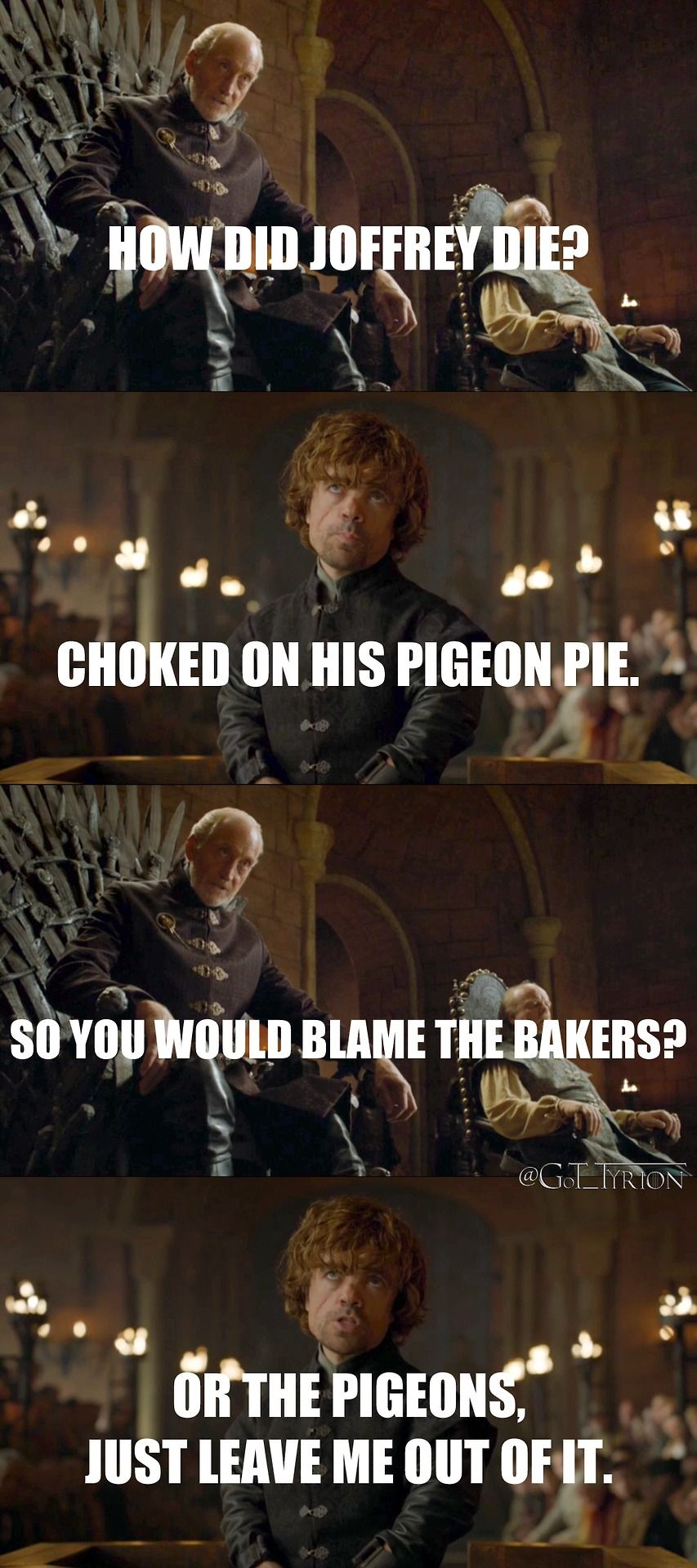 This Is Why We Love Tyrion Lannister.