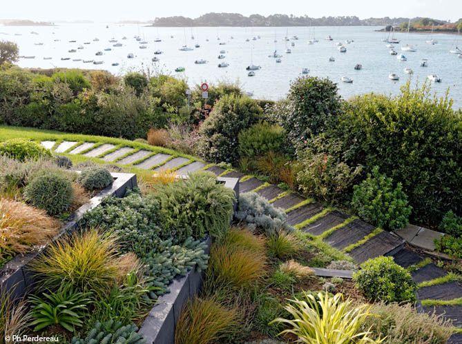 3 exemples de jardins au bord de la mer - Mon Jardin & ma maison ...