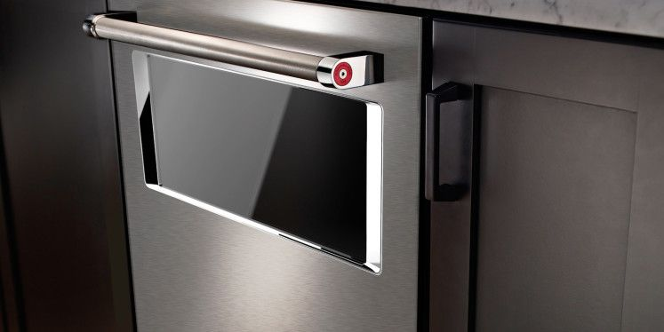 what do you think of this new kitchenaid dishwasher with a window rh pinterest com