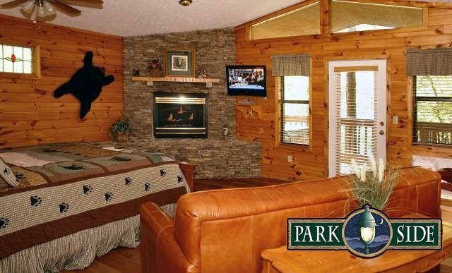 Mountain Secrets 1 Bedroom Cabin At Parkside Cabin Rentals Gatlinburg Cabin Rentals Honeymoon Cabin Cabin