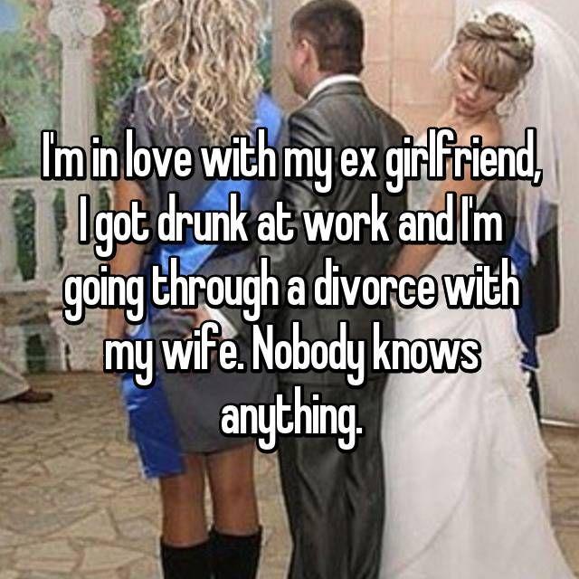 drunk ex girlfriend