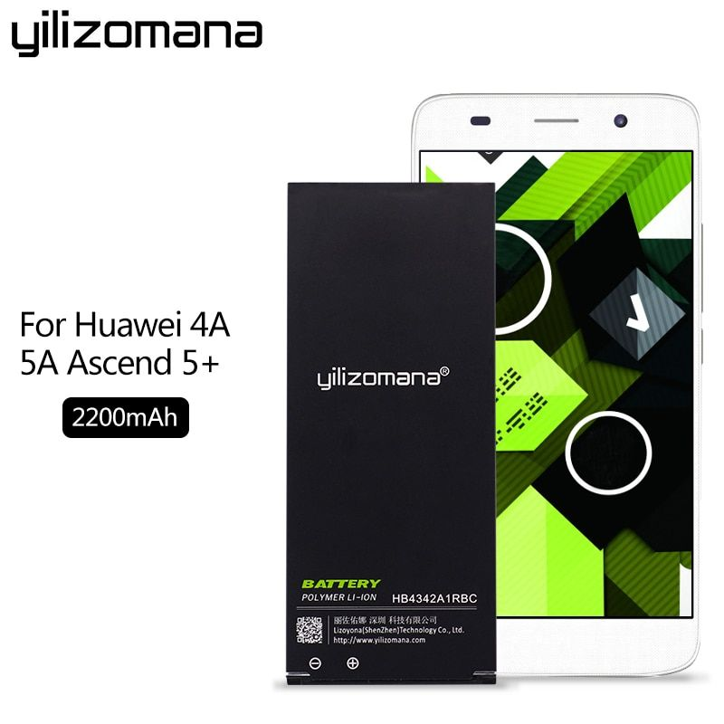 Original Yilizomana Hb4342a1rbc Phone Battery For Huawei Honor 4a 5a Y5ii Y5 Ii 2 Ascend 5 Y6 Scl Tl00 Lyo L21 220 Phone Battery Huawei Mobile Phone Batteries
