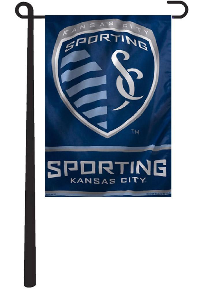 Sporting Kansas City 11x15 Blue Garden Flag Blue Kansas City