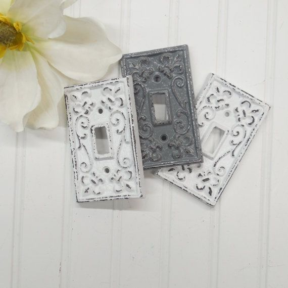 Light Switch Cover Nursery Wall Decor Light Switch Plate Decorative Cover Outlet Cover Shabby Chic Light Switch Covers Light Switch Covers Decorative Cover
