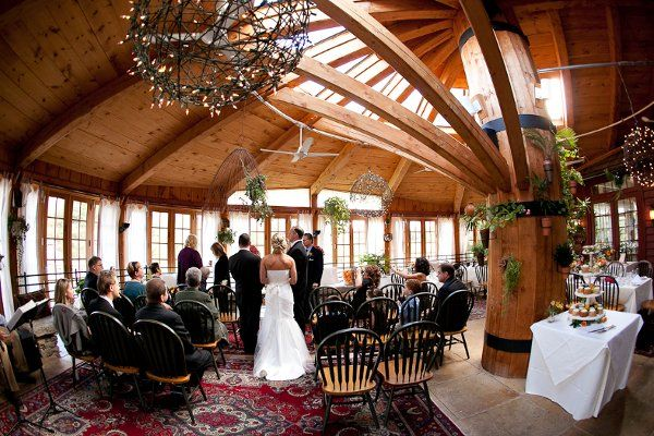 A Ceremony Inthe Round Room At Loch Nairn Wedding Wire Engagement Venues Local Wedding