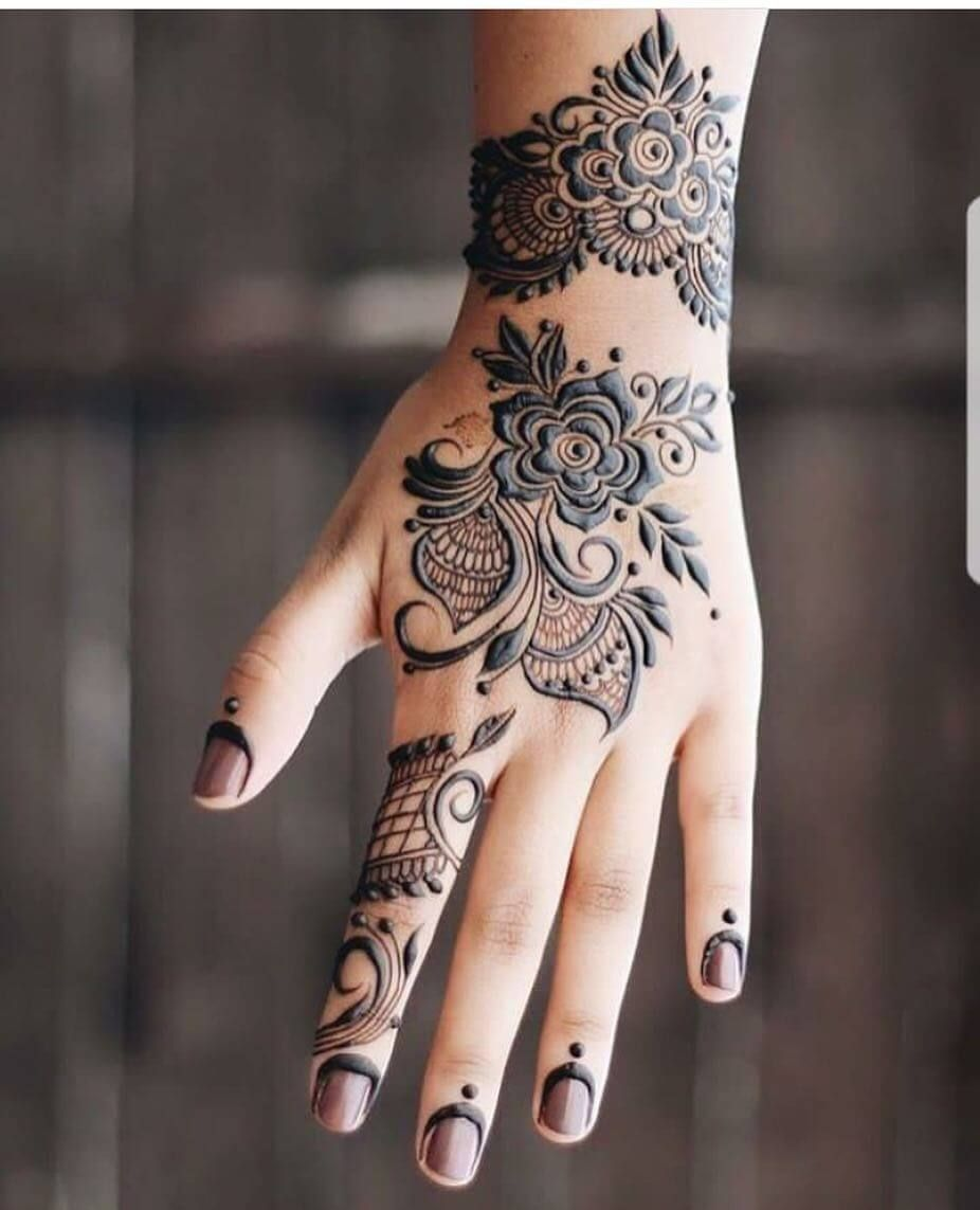 stylish mehendi designs for hands to inspire you also henna rh pinterest
