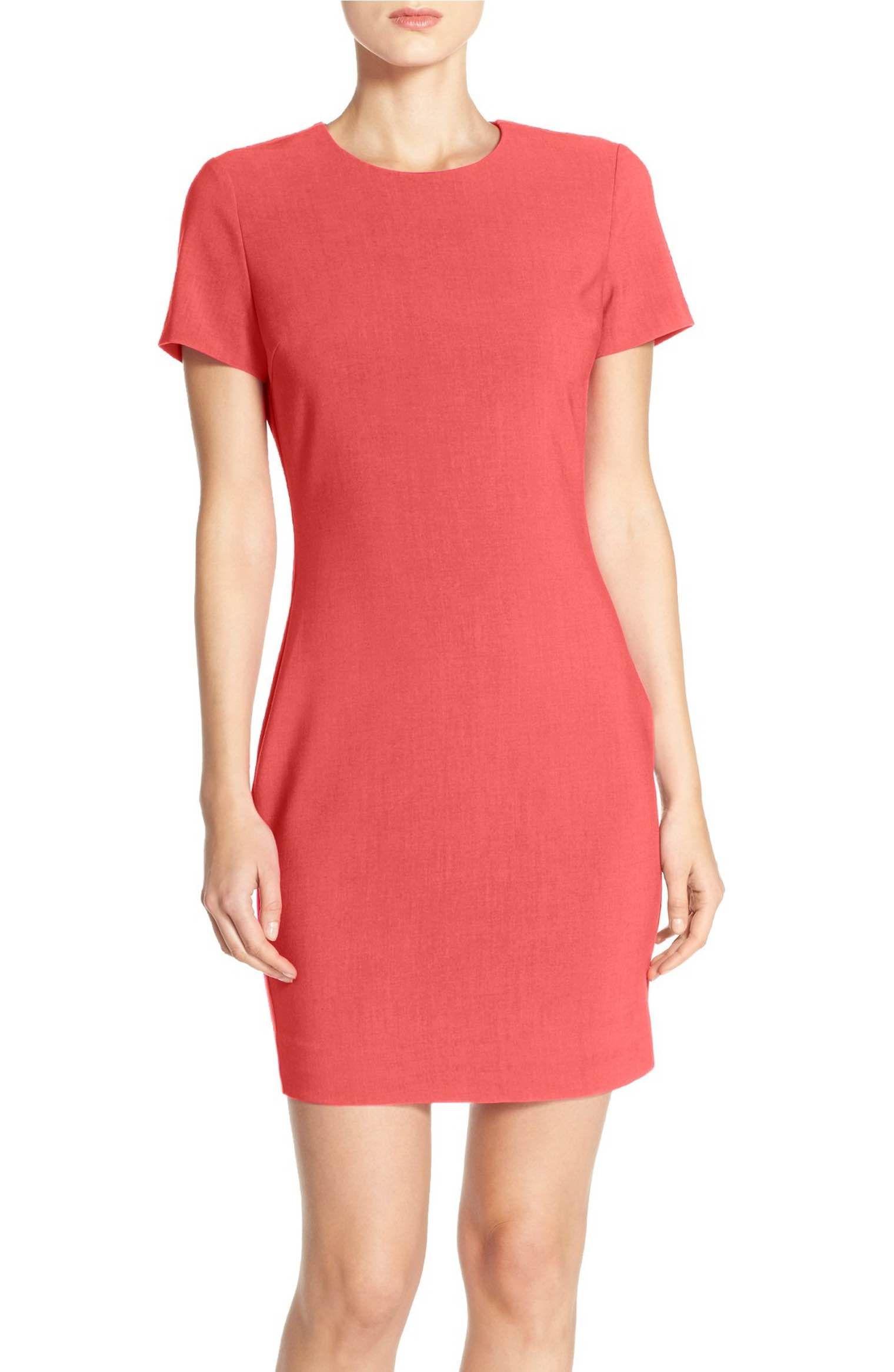 f08b6e6796f Main Image - Likely  Manhattan  Short Sleeve Sheath Dress