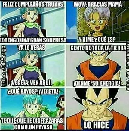 Dragon Ball Super Memes Xd 2 Feliz Cumpleanos Trunks Memes
