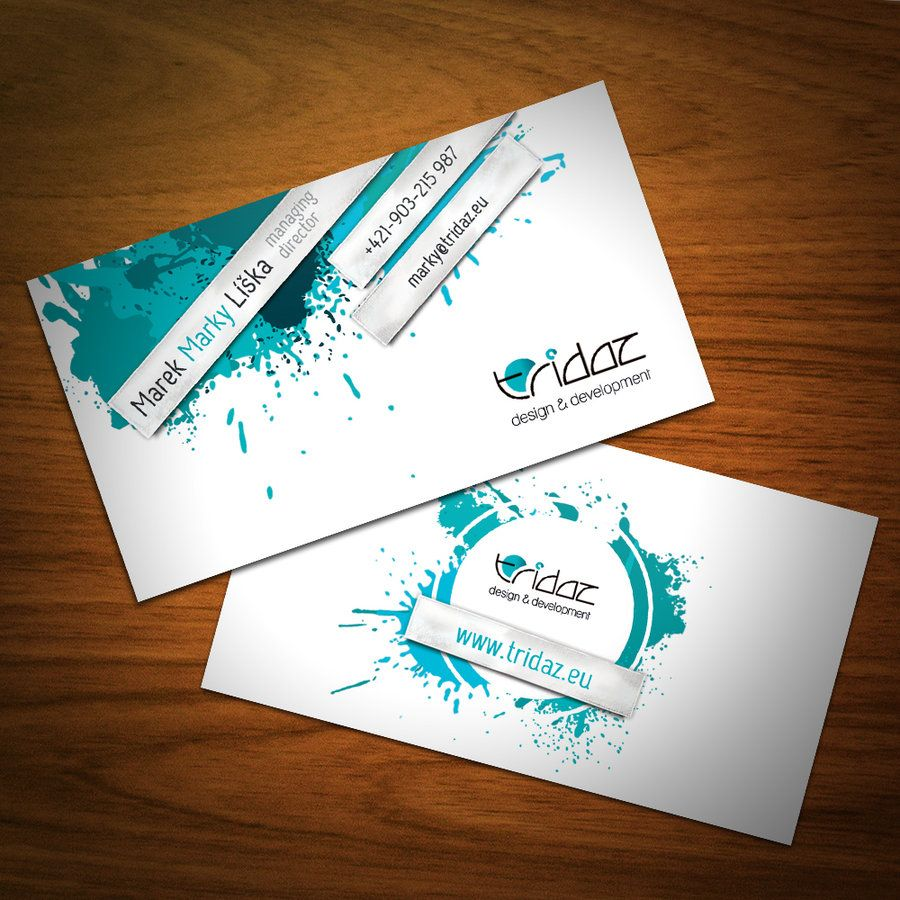 Simply Elegant Examples Of Business Card Designs  Business
