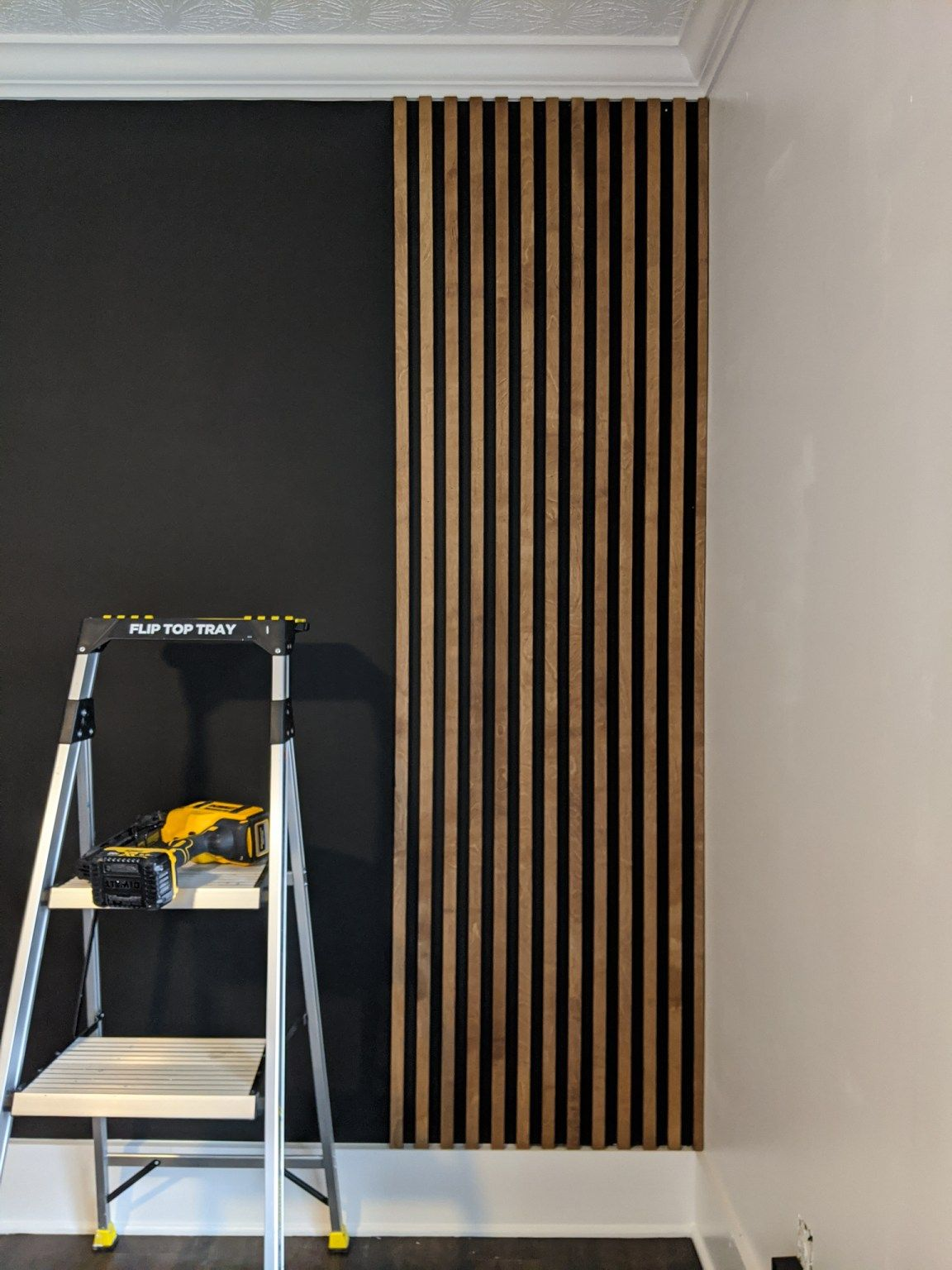 Photo of HOW TO MAKE AN AFFORDABLE WOOD SLAT WALL