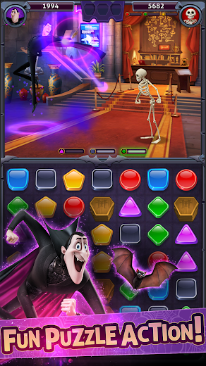 Hotel Transylvania Monsters Free Puzzle Action Game For Android