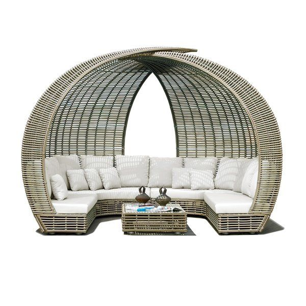 Sparta Patio Sofa with Sunbrella Cushions | Skyline design ... on Sparta Outdoor Living id=37880